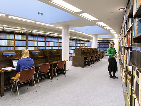 Read more about reading room and researcher space.
